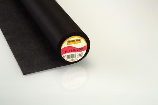 H180 90cm Vlieseline Fb. schwarz
