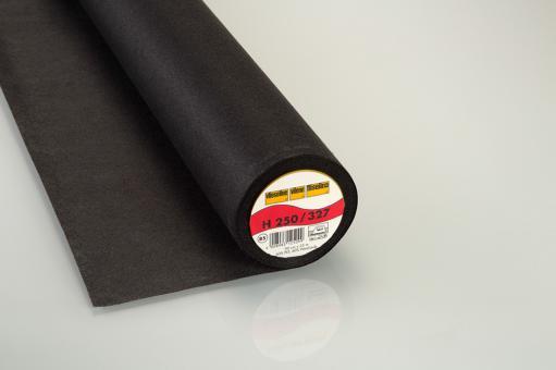 H250 Vlieseline 90cm breit schwarz