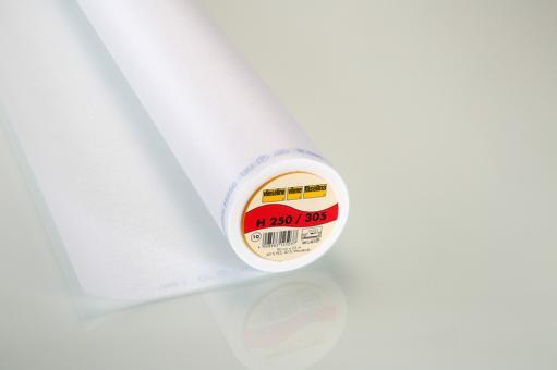 H250 Vlieseline weiß 90cm breit