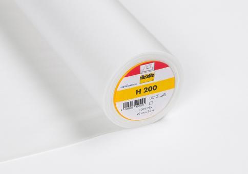 H200 Vlieseline weiss 90cm breit