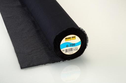 G700 Vlieseline schwarz 90cm