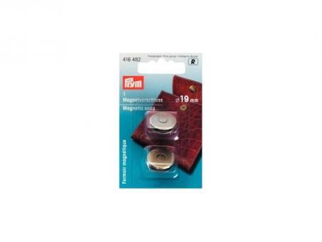 Prym Magnet-Verschluss 19 mm altmessing