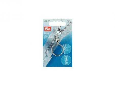 Prym Fashion-Zipper Ring silberfarbig