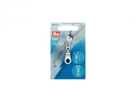 Prym Fashion-Zipper oese silberfarbig