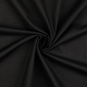 Baumwolle schwarz Ökotex Standard 100