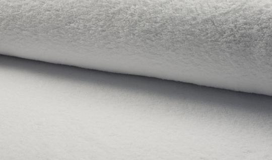 Frottee weiß Ökotex zertifiziert