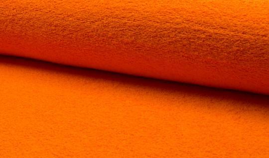 Frottee orange Ökotex zertifiziert