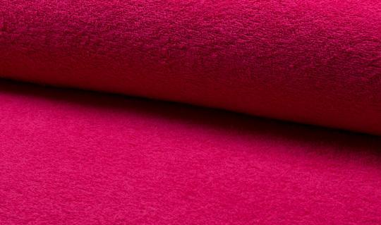 Frottee pink Ökotex zertifiziert