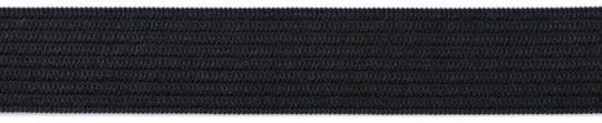 Gummiband  20mm schwarz