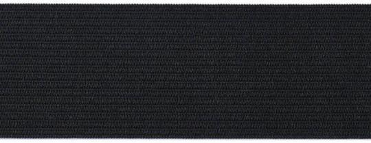 Gummiband 40mm schwarz