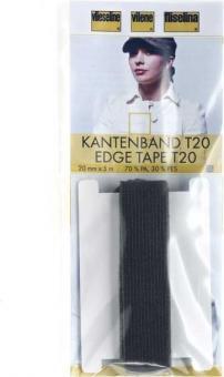 Kantenband T 20 grafit 2cm/ 5m