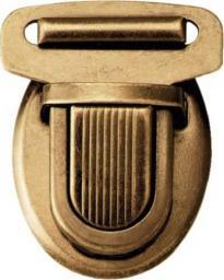 Prym Steckschloss 26 mm altmessing
