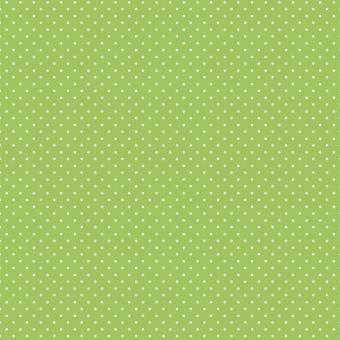 Tupfen klein apfelgrün