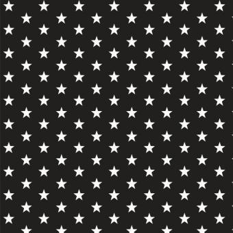 BW-Druck STARS schwarz