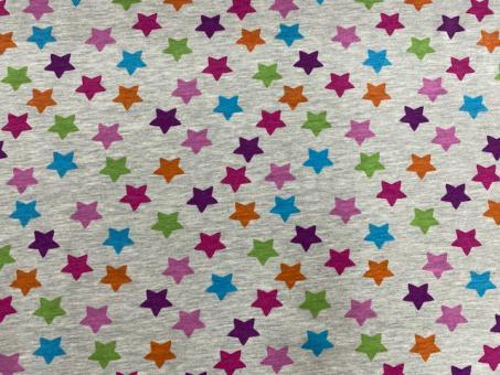 Sweat Stars graumelange-bunt