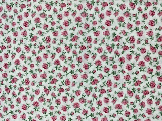 BW-Druck Röschen rosa