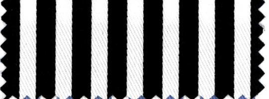 Köper-Streifen schwarz