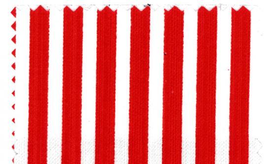 Köper-Streifen rot schmal