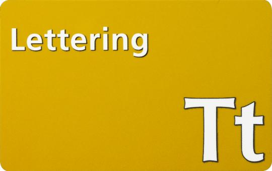 Toolbox Lettering