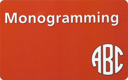 Toolbox Monogramming