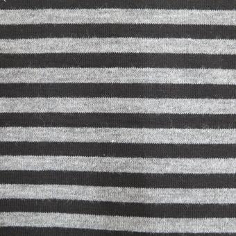 Feinstrick-Ringel schwarz-grau