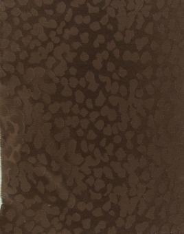 Seiden-Jacquard braun