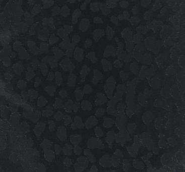 Seiden-Jacquard schwarz