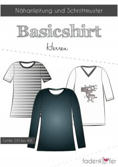 Basicshirt Herren von Fadenkäfer