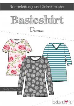 Basicshirt Damen von Fadenkäfer