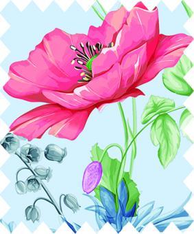 Gütermann Fabric Blooms 370