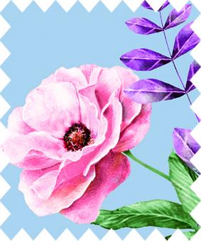 Gütermann Fabric Blooms 371