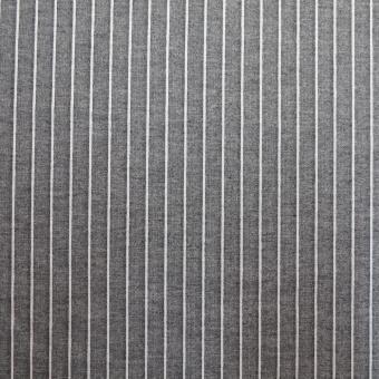 Romanit Nadelstreifen grau-weiß
