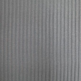Ripp-Jersey   grau