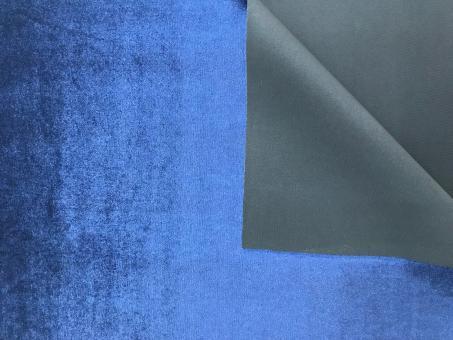Samt SCUBA blau
