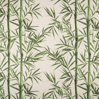 Leinendruck 140cm Bambus