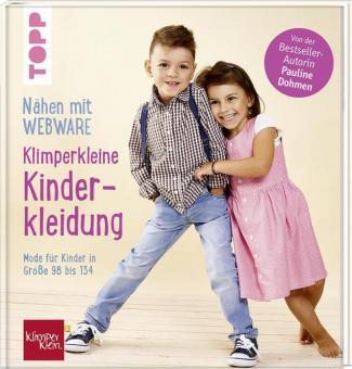 Klimperklein Kinderkleidung mit Webware