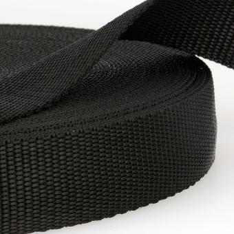 Taschengurt schwarz 40mm