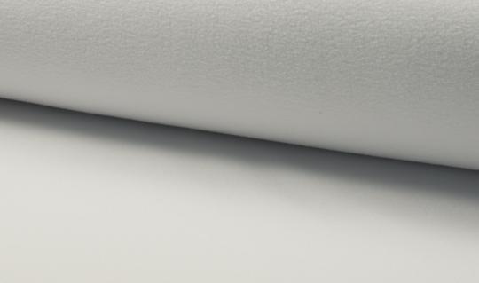 Micro-Fleece antipilling weiß