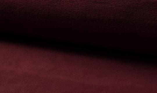 Micro-Fleece antipilling weinrot