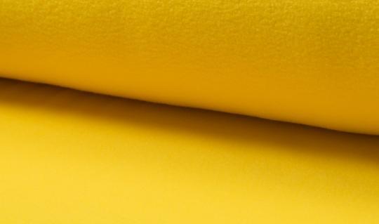 Micro-Fleece antipilling gelb