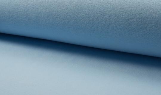 Micro-Fleece antipilling hellblau