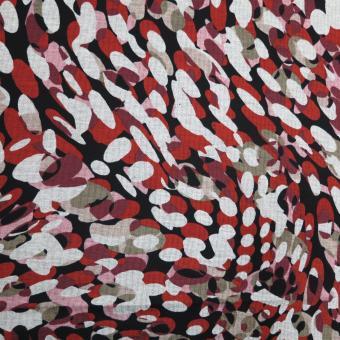 Romanit-Jersey bedruckt Tupfen  noch 2,30m vorrätig