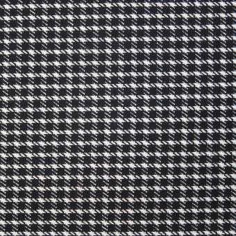 Karo-Jersey schwarz-weiss