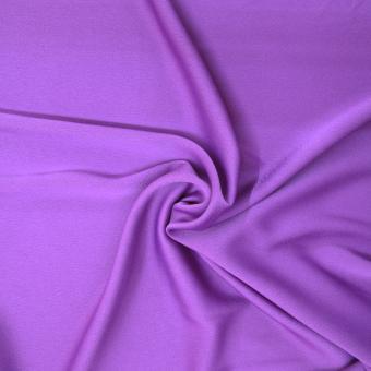 Crepe-Satin mattglänzend lila