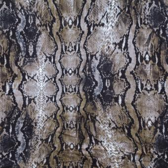 Jerseydruck Snake taupe