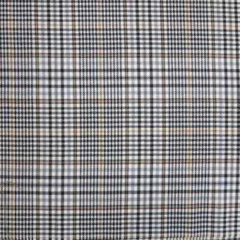 Glencheck Karo ecru-beige-ocker