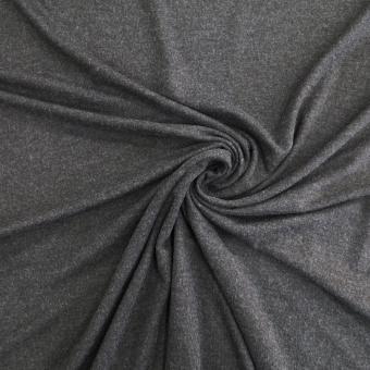 Elastic-Jersey  Melange anthrazit