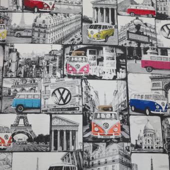 Jacquard VW Bulli Europe