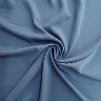 Viskose-Twill jeansblau