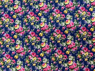 Blumendruck marine nur solange Vorrat reicht!